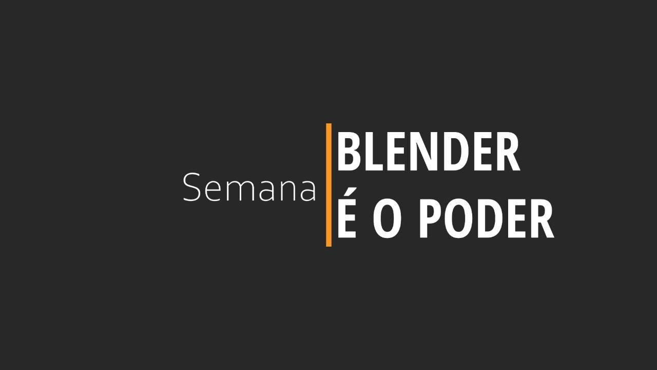 BLENDER É O PODER | DIA 05 ANIMAÇÕES