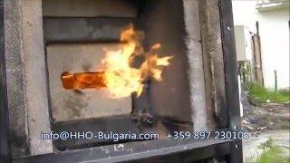 Водородна горелка най-евтино отопление HHO burner