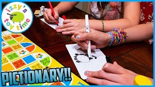 Izzy's Toy Time PICTIONARY BOARD GAME NIGHT! Fun Toys