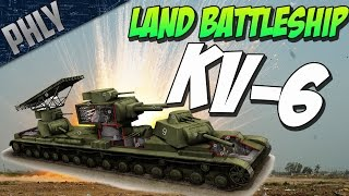 soviet super tank kv 6 war thunder tanks gameplay