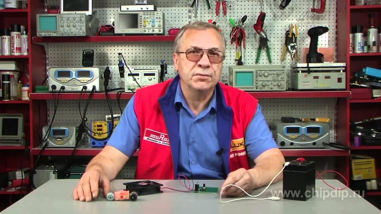 регулятор оборотов шагового двигателя схема