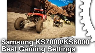 samsung KS7000/ KS8000 Best TV Settings Guide PS4 Pro/Xbox One S/PS4/PC