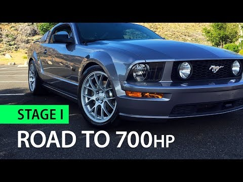 Transforming my Mustang into a Supercar (Road to 700 - Stage 1)