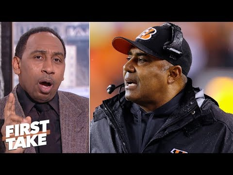 'Marvin Lewis Should Be Working For Free' - Stephen A. L First Take