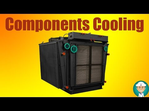 Diesel Engine Components Cooling