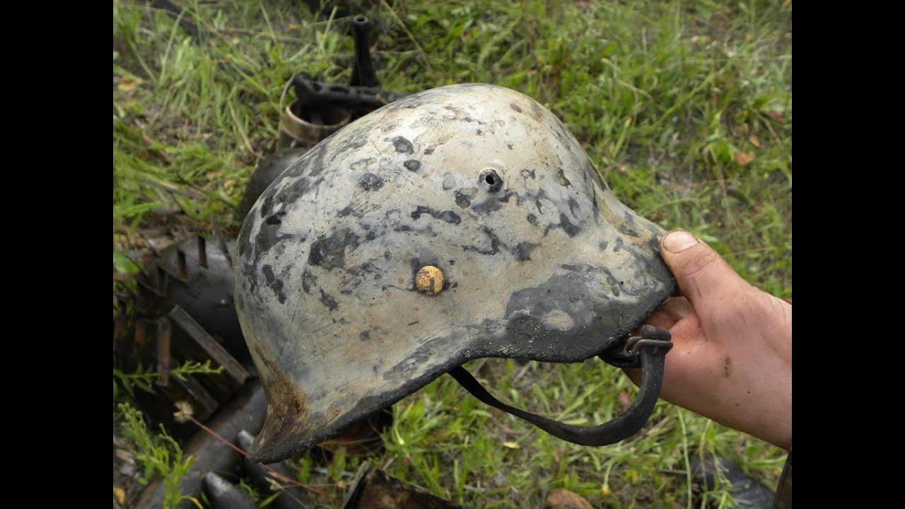 Что можно было найти при раскопках немецких блиндажей в 2012.