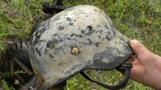 Раскопали немецкий блиндаж , находки впечатлили ! thumbnail