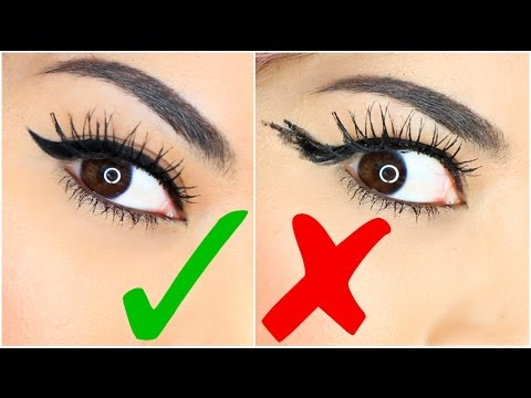 Easy Eyeliner Hacks For Perfect Winged Eyeliner