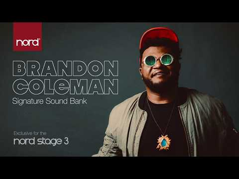 Introducing the Brandon Coleman Sound Bank for Nord Stage 3