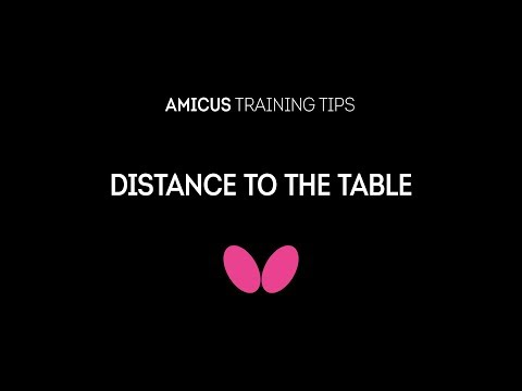 How to Maintain Good Distance to the Table with Richard Prause | AMICUS Training Tips
