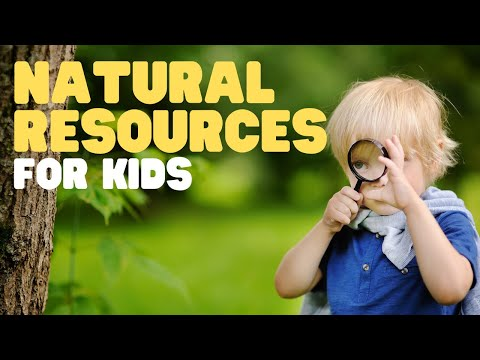 Natural Resources For Kids | Teach Your Kids And Students About Earths Natural Resources