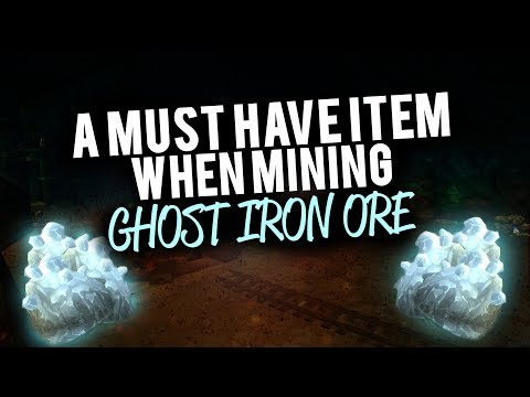 A Must Have Item When Mining Ghost Iron Ore And Where To Get It Forgotten Pick WoW Gold Guide