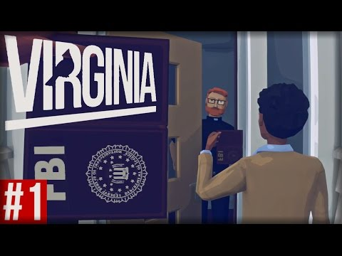 TWIN PEAKS MEETS FIREWATCH | Virginia (Playthrough Part 1)