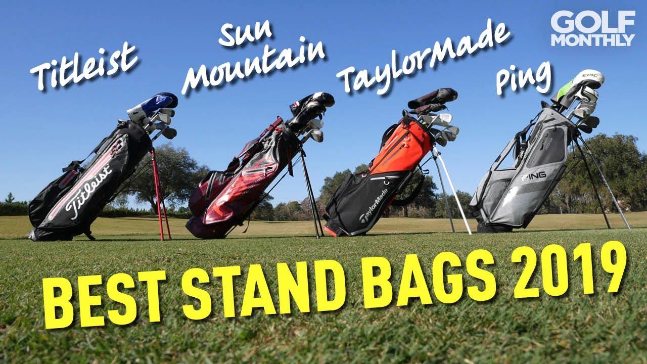 d04d617c4f751 Best Stand Bags 2019 - We Crown A Winner! Golf Monthly - YouTube