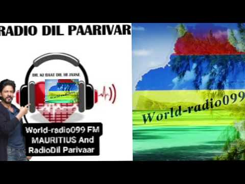 P.Garewan  in LIVE on world-radio099 FM MAURITIUS...16.02.2018