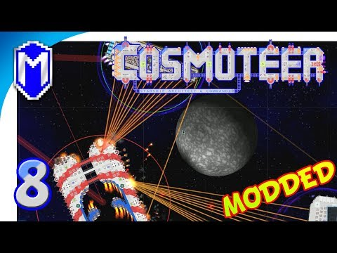 Cosmoteer - Super Accurate Assault Craft, Beam Weapons - Let's Play Cosmoteer Abh Mod Gameplay Ep 8