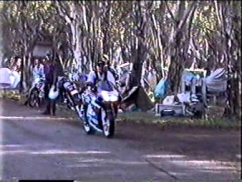 Buffalo Rally.1998. South Africa.Aliwal North.Motorbike weekend.