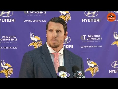 Vikings star Chad Greenway's emotional retirement press conference
