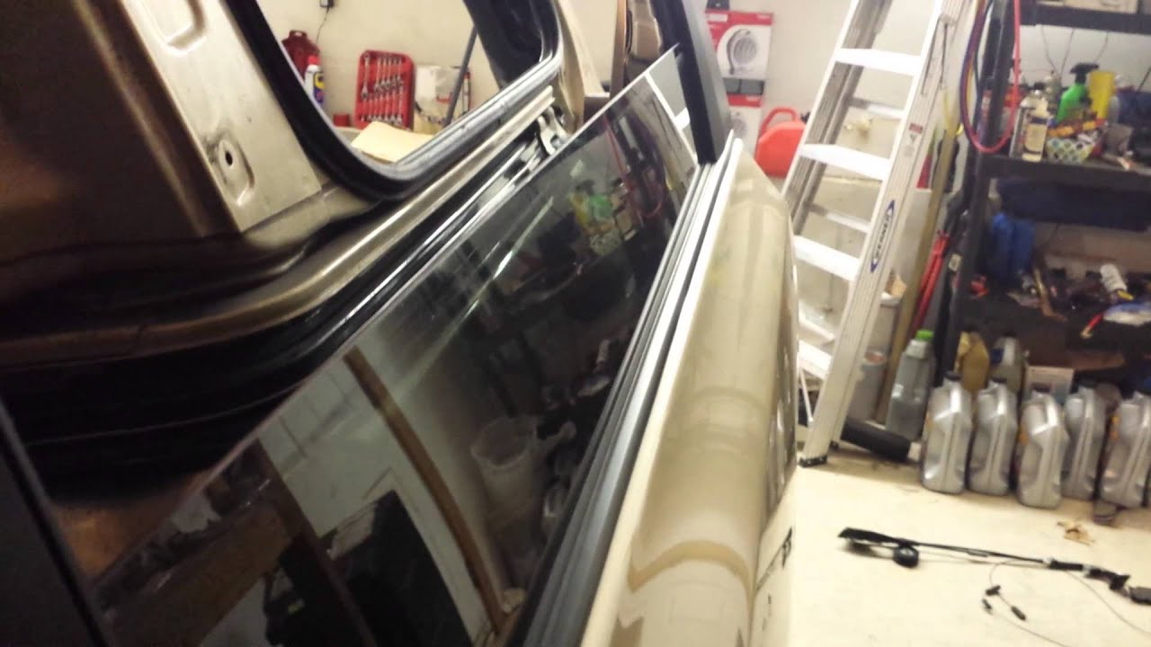 2011 Sienna Power Door Cable Installed Youtube