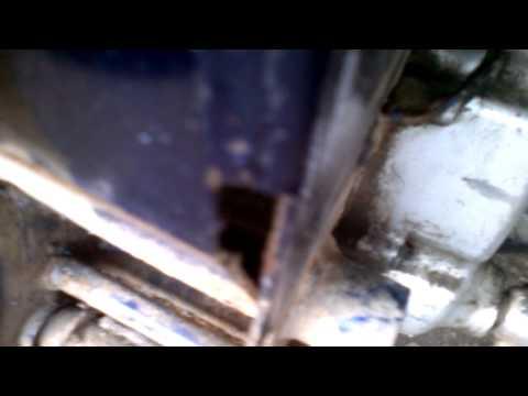 Проблема с втулкой оси маятника мопеда Дельта.