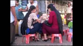 Burma street food of Yangon Jídlo na ulici v Yangonu