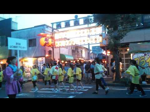 山口県山口市 山口祇園祭り 2014年07月24日 市民総踊り