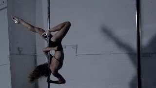 'Lady Grinning Soul', by David Bowie - spinning pole dance choreography