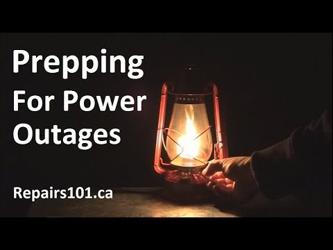 Prepping For Power Outages - Top 10 Things You Need For Surviving Blackouts In Comfort
