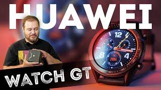 Huawei Watch GT - обзор смарт-часов (до двух недель автономности и спортивная функциональность)