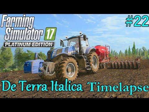 FS17 Timelapse, De Terra Italica #22: Planting Grass!