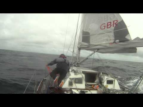 Azores to UK solo: the trailer
