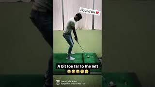 Golf Wedge Practice Part 2😂. #golf #donda #meme #funny #sports