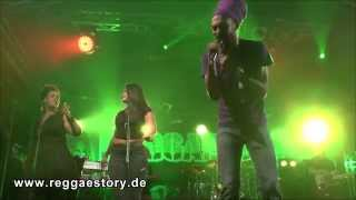 Cali P - 1/2 - Healing Of The Nation + Solution - Reggae Jam 2015