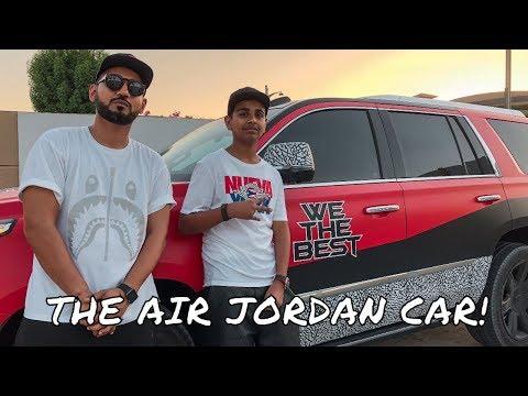 Money Kicks Brought His Air Jordan Car Grateful 3s To The Office