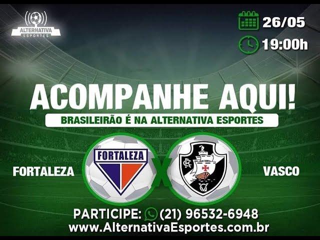 Fortaleza 1x1 Vasco - 6ª rodada - Brasileirão 2019 (Narração)