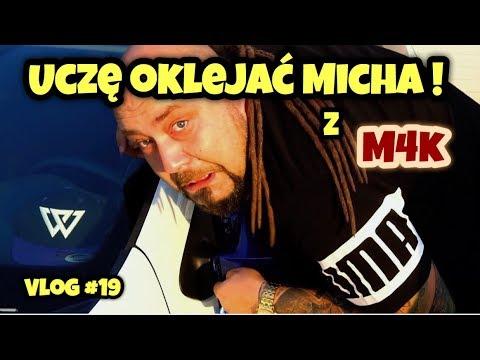 Uczę oklejać Micha z Miłośnicy 4 Kółek. Jak mu poszło? Vlog #19
