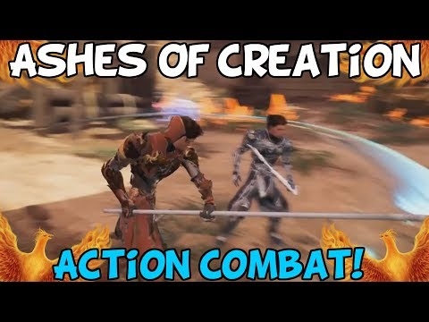 Ashes Of Creation Show Action Combat Gameplay! - My Thoughts