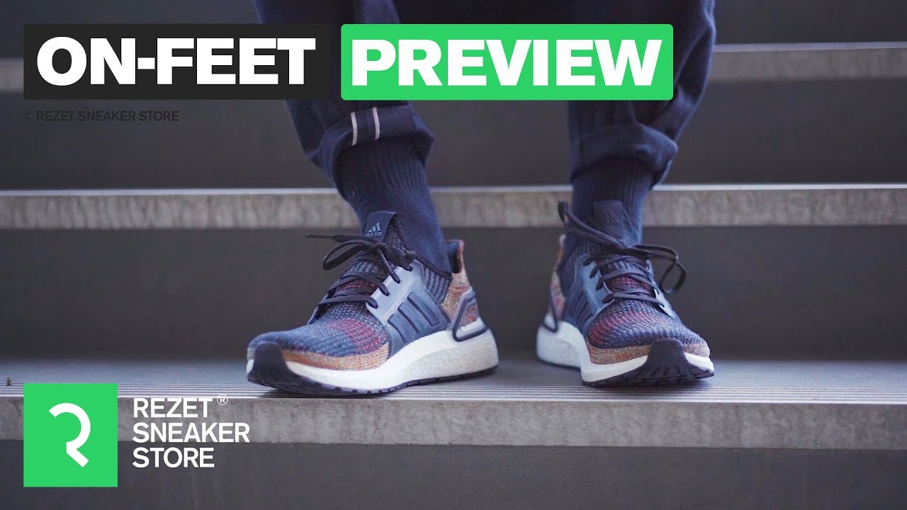 cf015191068f0 adidas Ultra Boost 19 On-Feet Look - YouTube