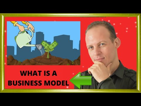 What is a business model - tutorial and examples