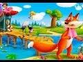 Сказка Лиса и Журавль интерактивная сказка для детей