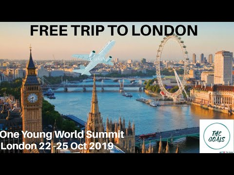 Free trip to London | One Young World Summit | Youth Opportunity | Fully  Funded | Exchange Program