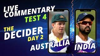 Download THE DECIDER - 4th Test, Day 2 | AUSTRALIA vs INDIA | Live Audio Commentary; ALL INDIA RADIO