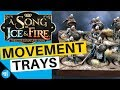 Song Of Ice And Fire Miniatures Game - Movement Trays