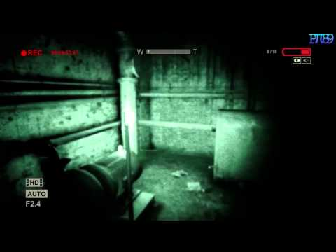 Outlast Gameplay - Basement: Gas Pumps, Main Breaker and Generator (HD)