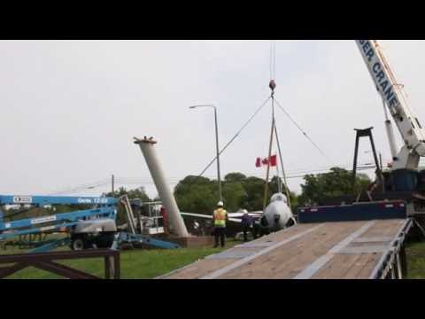 Pictou airplane removal