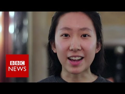 The Chinese students fighting racism - BBC News