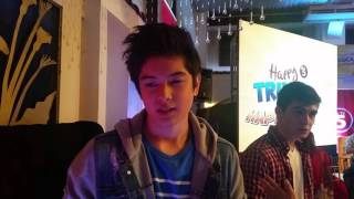 Jack Reid's Reaction on Nadine Lustre being his brother's girlfriend