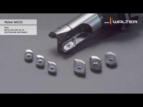 Walter Tools milling Skytec M2131 ramping milling cutter: aluminium wrought alloy aircraft industry