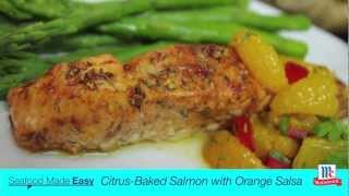How To Cook Salmon Citrus Baked Salmon Recipe