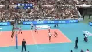 ワールドグランプリ 2008 日本vsトルコ - 第4セット